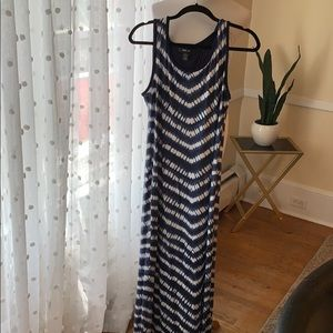Style & Co. Maxi Dress in Large EUC! Rayon/spandex